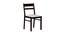 Corinne 4 Seater Dining Set (Wenge, Veneer Finish) by Urban Ladder - Front View Design 1 - 371643