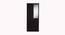 Cassidy 2 door Wardrobe with Mirror (Laminate Finish, Wenge) by Urban Ladder - Front View Design 1 - 371649