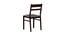 Carolyn 4 Seater Dining Set (Wenge, Veneer Finish) by Urban Ladder - Design 1 Side View - 371666