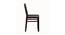 Carolyn 4 Seater Dining Set (Wenge, Veneer Finish) by Urban Ladder - Design 1 Close View - 371678