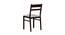 Corinne 4 Seater Dining Set (Wenge, Veneer Finish) by Urban Ladder - Design 1 Close View - 371679