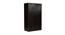 Charli 3 door Wardrobe (Melamine Finish, Wenge) by Urban Ladder - Design 1 Close View - 371688