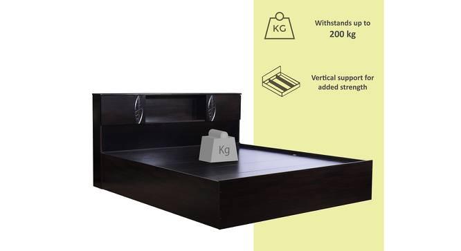 Iowa Storage Bed (Queen Bed Size, Melamine Finish) by Urban Ladder - Front View Design 1 - 371915