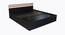 Flint Bed (King Bed Size, Laminate Finish, Wenge) by Urban Ladder - Rear View Design 1 - 371928