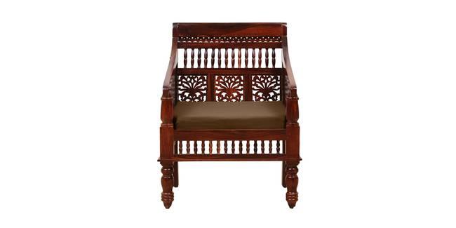 Nayantara Wooden Sofa - Honey Oak (1-seater Custom Set - Sofas, None Standard Set - Sofas, Fabric Sofa Material, Regular Sofa Size, Regular Sofa Type, HONEY)