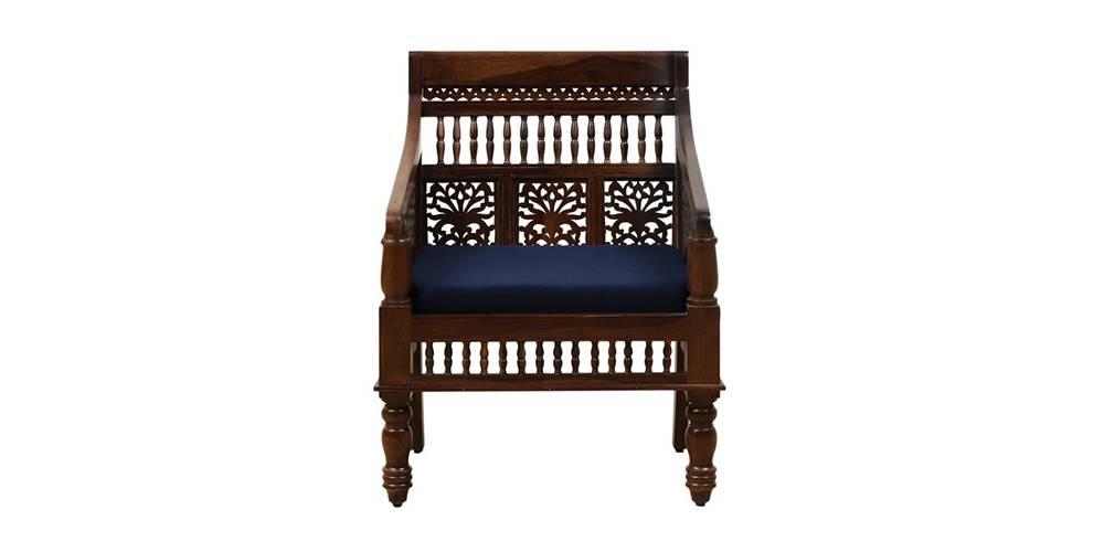 Nehmat Wooden Sofa -Provincial Teak by Urban Ladder - -