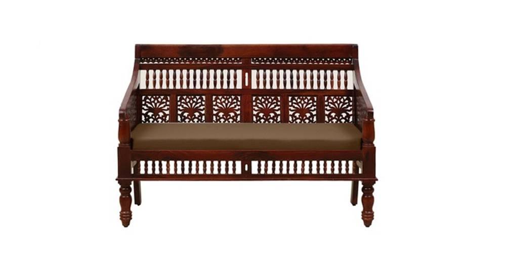 Ojasvini Wooden Sofa -Honey Oak by Urban Ladder - -