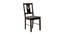 Jillian 4 Seater Dining Set (Wenge, Veneer Finish) by Urban Ladder - Cross View Design 1 - 372040
