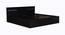 Jaxton Storage Bed (King Bed Size, Laminate Finish) by Urban Ladder - Cross View Design 1 - 372042
