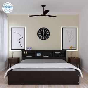 Macy storage bed wenge color laminate finish lp