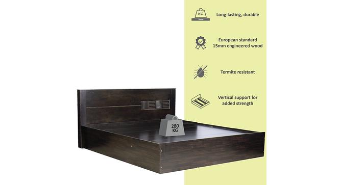 Montecristo Storage Bed (Queen Bed Size, Melamine Finish) by Urban Ladder - Cross View Design 1 - 372137