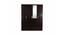 Maisie 4 door Wardrobe with Mirror (Laminate Finish, Wenge) by Urban Ladder - Cross View Design 1 - 372140