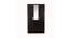 Luciana 3 door Wardrobe with Mirror (Laminate Finish, Wenge) by Urban Ladder - Front View Design 1 - 372151