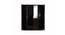 Maisie 4 door Wardrobe with Mirror (Laminate Finish, Wenge) by Urban Ladder - Rear View Design 1 - 372163