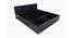 Macy Storage Bed (King Bed Size, Laminate Finish) by Urban Ladder - Design 1 Side View - 372167