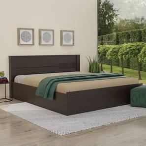 Murano storage bed wenge color melamine finish lp
