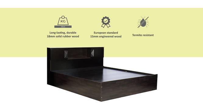 Porto Storage Bed (Queen Bed Size, Melamine Finish) by Urban Ladder - Cross View Design 1 - 372220