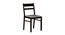 Paola 4 Seater Dining Set (Wenge, Veneer Finish) by Urban Ladder - Front View Design 1 - 372225