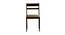 Paola 4 Seater Dining Set (Wenge, Veneer Finish) by Urban Ladder - Rear View Design 1 - 372235