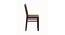 Paola 4 Seater Dining Set (Wenge, Veneer Finish) by Urban Ladder - Design 1 Side View - 372245