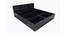 Nate Storage Bed (Queen Bed Size, Laminate Finish) by Urban Ladder - Design 1 Side View - 372246