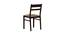 Paola 4 Seater Dining Set (Wenge, Veneer Finish) by Urban Ladder - Design 1 Close View - 372255