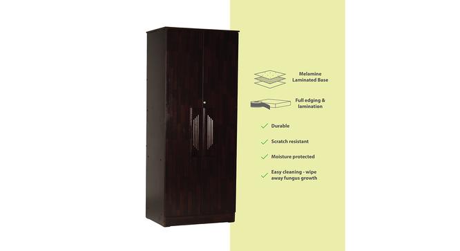 Reynold 2 door Wardrobe (Melamine Finish, Wenge) by Urban Ladder - Cross View Design 1 - 372300