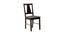 Serena 4 Seater Dining Set (Wenge, Veneer Finish) by Urban Ladder - Front View Design 1 - 372303