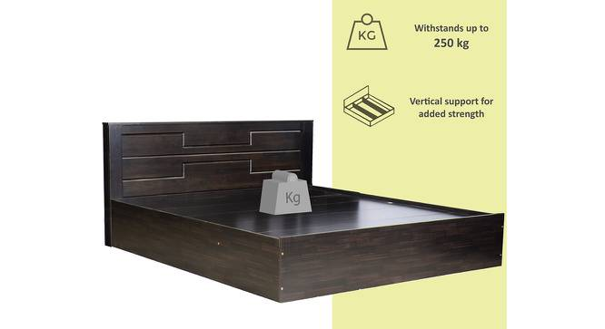Procida Storage Bed (King Bed Size, Melamine Finish) by Urban Ladder - Front View Design 1 - 372304