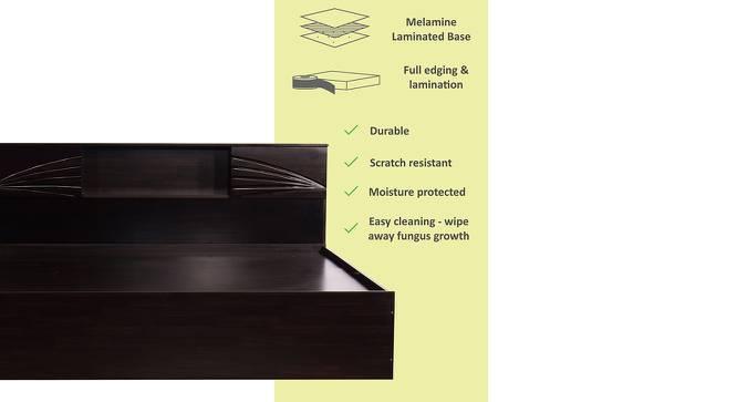 Ryukyu Storage Bed (King Bed Size, Melamine Finish) by Urban Ladder - Front View Design 1 - 372307