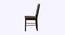 Serena 4 Seater Dining Set (Wenge, Veneer Finish) by Urban Ladder - Design 1 Side View - 372327