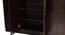 Raven 4 door Wardrobe (Melamine Finish, Wenge) by Urban Ladder - Design 1 Close View - 372345