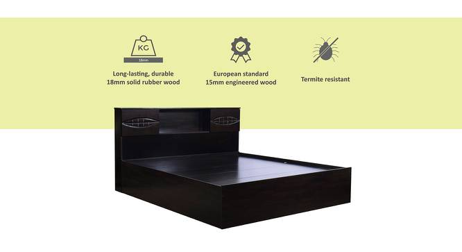 Stromboli Storage Bed (Queen Bed Size, Melamine Finish) by Urban Ladder - Cross View Design 1 - 372379