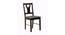 Zoie 4 Seater Dining Set (Wenge, Veneer Finish) by Urban Ladder - Front View Design 1 - 372384