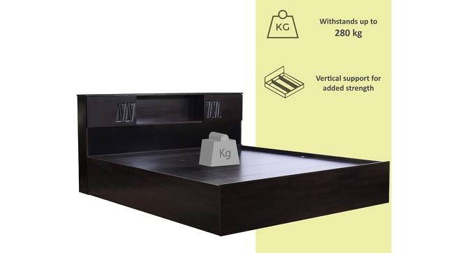 Tsushima Storage Bed (King Bed Size, Melamine Finish) by Urban Ladder - Front View Design 1 - 372387