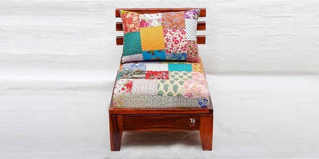 Hunar Wooden Sofa - Honey (1-seater Custom Set - Sofas, None Standard Set - Sofas, Regular Sofa Size, Regular Sofa Type, HONEY, Solid_Wood Sofa Material)