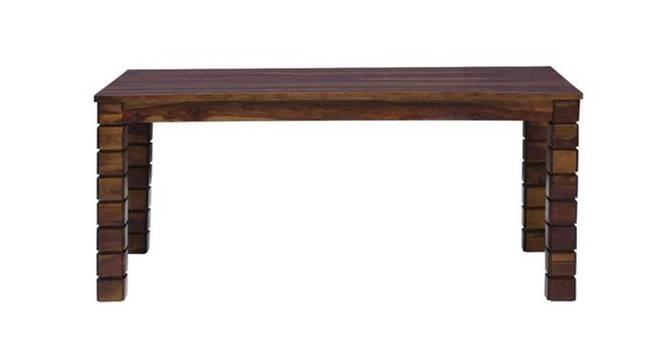 Michon 6 Seater Table (Semi Gloss Finish, PROVINCIAL TEAK) by Urban Ladder - Cross View Design 1 - 372480