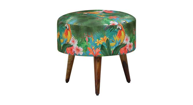 Marshall Side Table (Semi Gloss Finish, Fabric) by Urban Ladder - Front View Design 1 - 372488