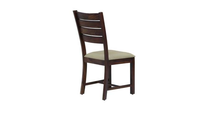 Michel Dining Chair (Semi Gloss Finish, PROVINCIAL TEAK) by Urban Ladder - Front View Design 1 - 372492