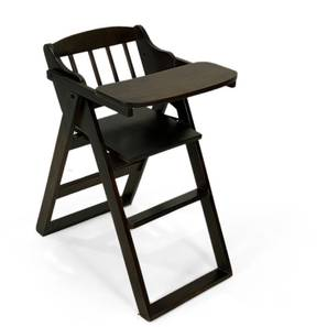 Trevor Baby Chair (Black, Matte Finish) by Urban Ladder - Cross View Design 1 - 372552