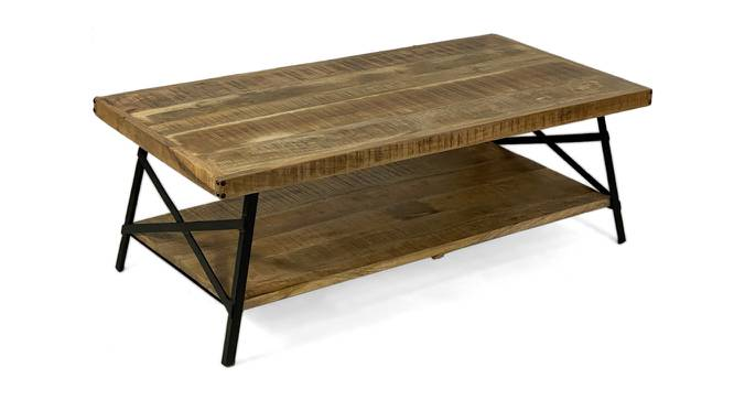 Jaiden Coffee Table (Natural Finish, Natural) by Urban Ladder - Cross View Design 1 - 372540