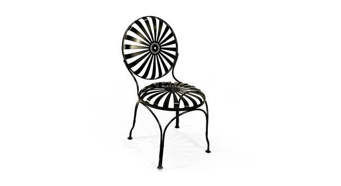 Grady Balcony Chair (Black, Powder Coating Finish) by Urban Ladder - Cross View Design 1 - 372541