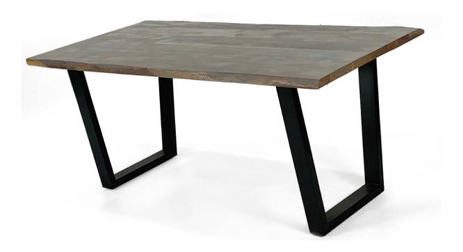 Andy Dining Table (Matte Finish, Red Walnut) by Urban Ladder - Cross View Design 1 - 372546