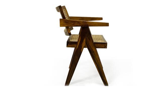 Royal Study Chair (Walnut) by Urban Ladder - Cross View Design 1 - 372549