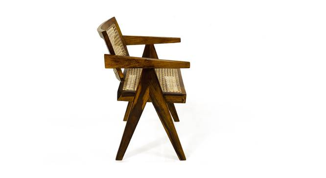 Royal Study Chair (Walnut) by Urban Ladder - Front View Design 1 - 372563