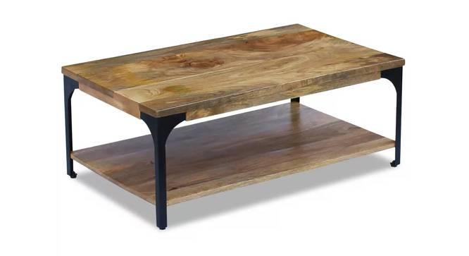 Cassandra Coffee Table (Natural, Semi Gloss Finish) by Urban Ladder - Cross View Design 1 - 372596