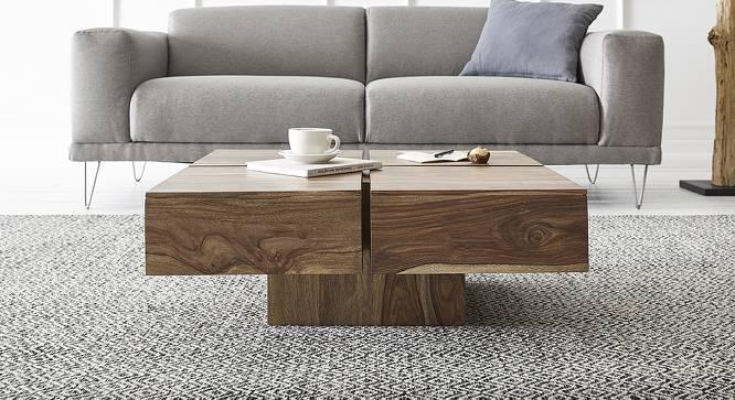 Bartholomew Coffee Table (Natural, Semi Gloss Finish) by Urban Ladder - Cross View Design 1 - 372601