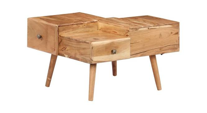 Diana Coffee Table (Natural, Semi Gloss Finish) by Urban Ladder - Cross View Design 1 - 372639