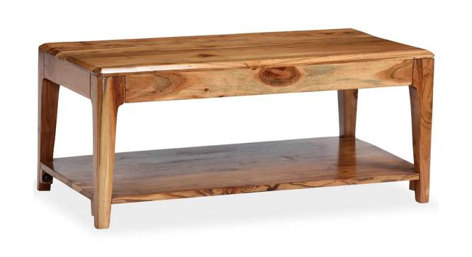 Harley Coffee Table (Natural, Semi Gloss Finish) by Urban Ladder - Cross View Design 1 - 372641