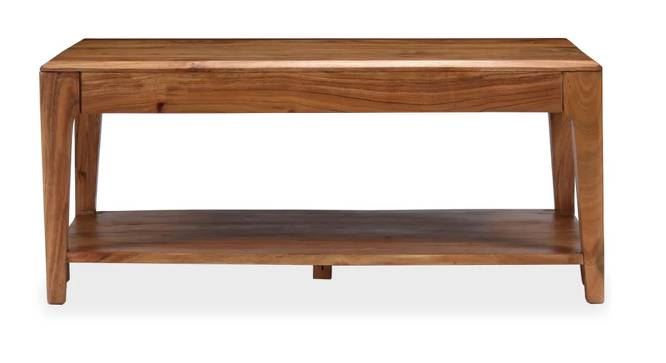 Harley Coffee Table (Natural, Semi Gloss Finish) by Urban Ladder - Front View Design 1 - 372651